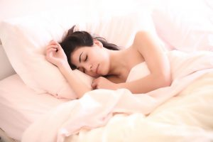 insomnia article woman sleeping first responders trauma