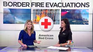 First Alarm Wellness Tina Casola on the news as Red Cross Crisis Counseling Team Leader